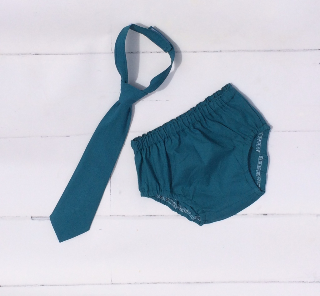 Diaper cover and tie