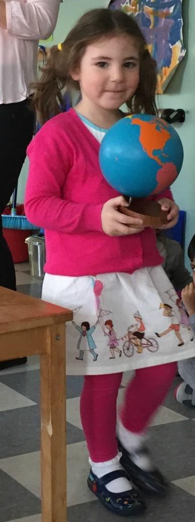 Maya's preschool birthday celebration.  She's 4!  Really?!